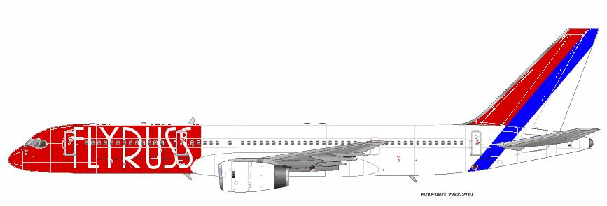 FlyRuss 757 1